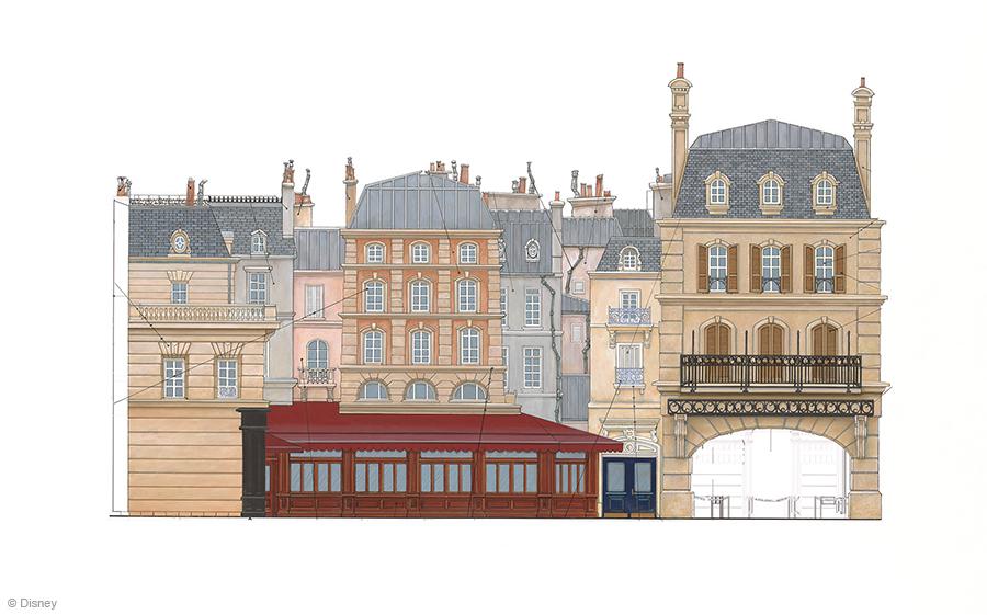 Ratatouille - La Place de Remy - Concept Art