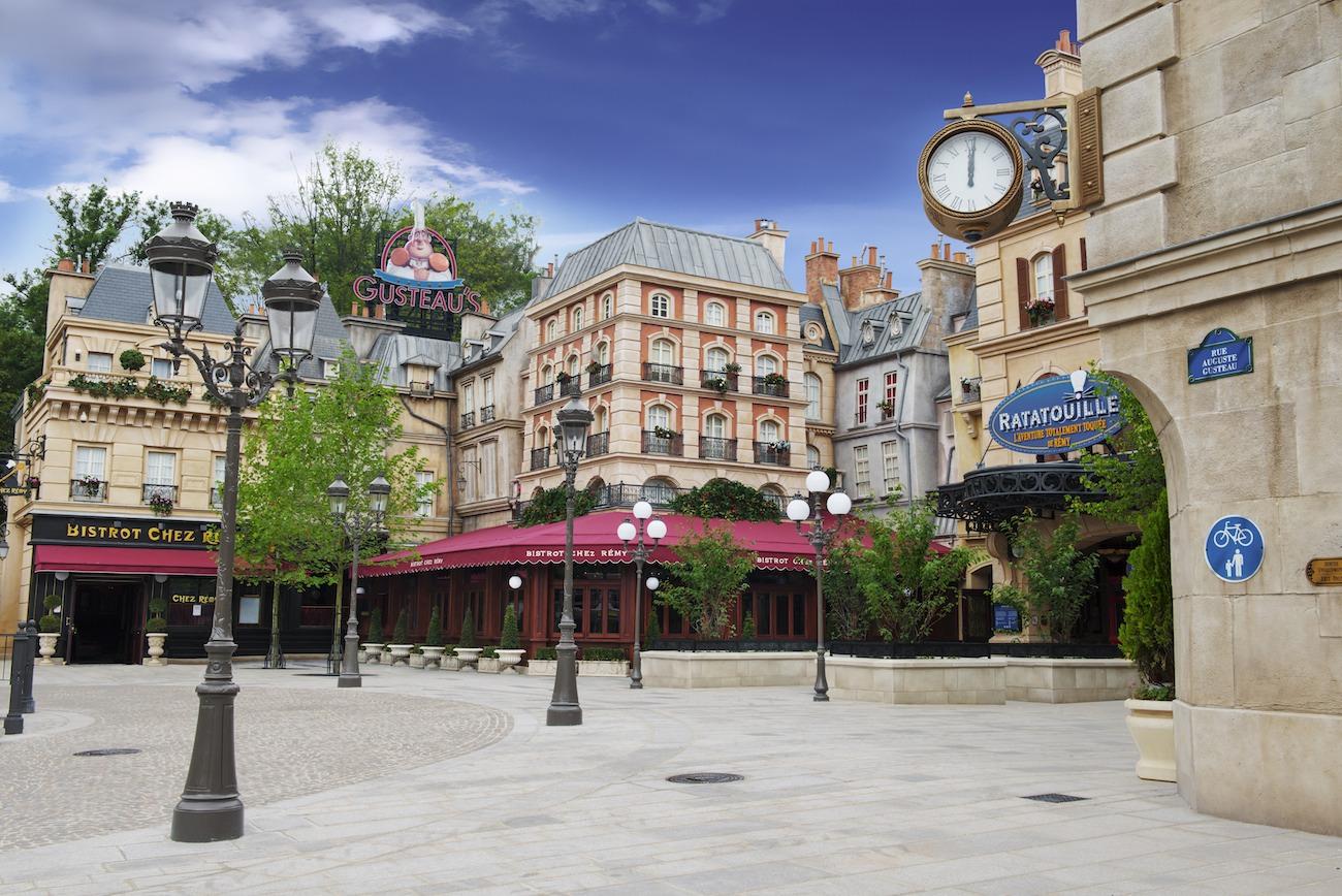 Ratatouille - La Place de Remy - Overview