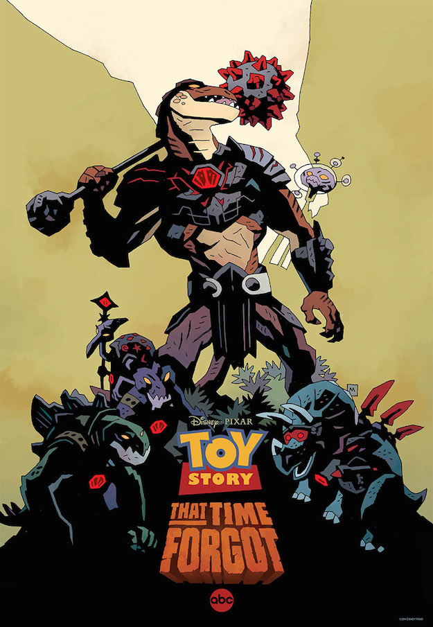 Toy Story That Time Forgot Mike Mignola Poster