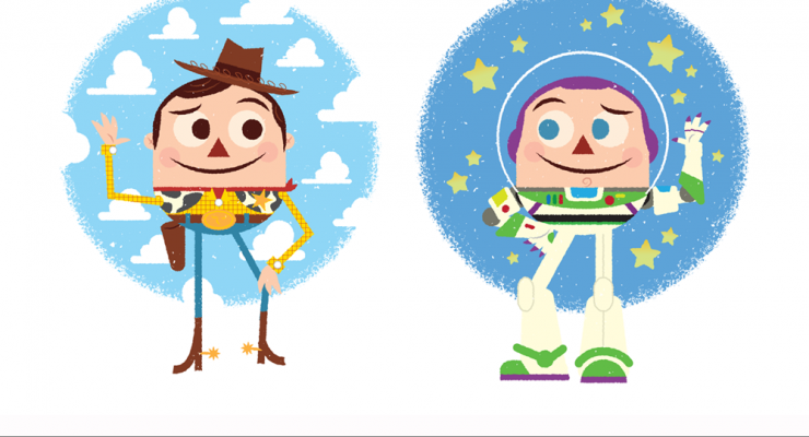 PixArt: August Feature – Woody and Buzz