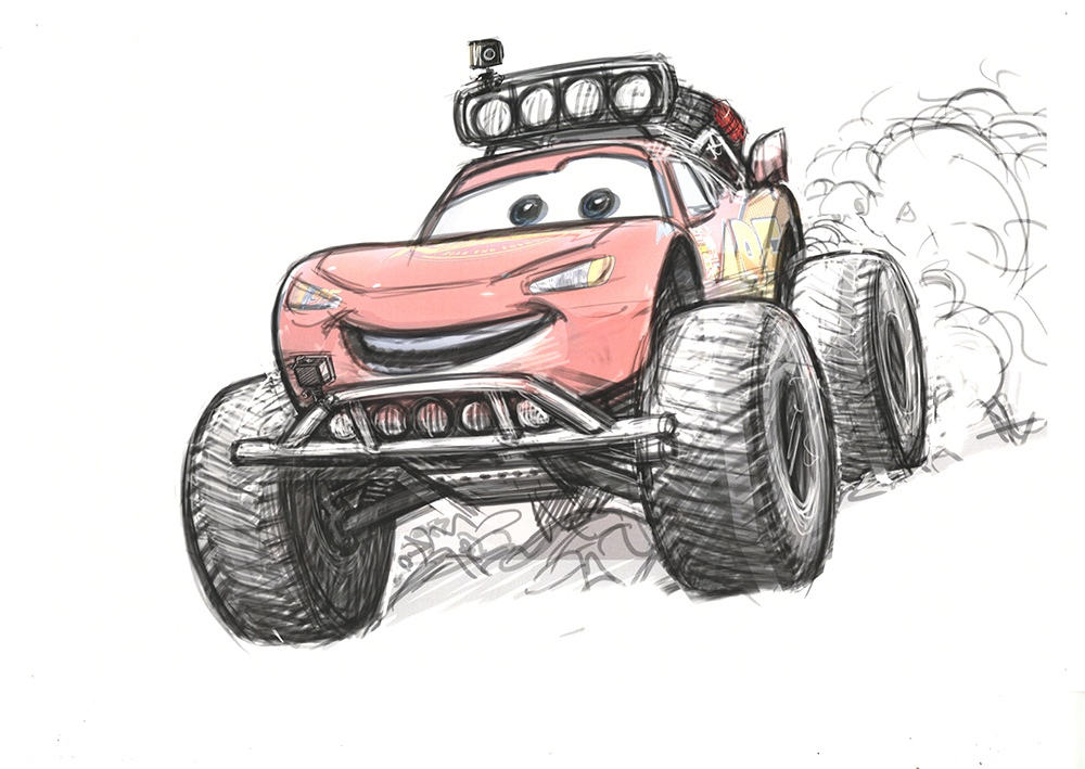 Radiator Springs 500 1:2 - Concept Art 1