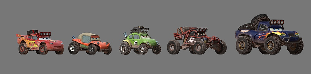 Radiator Springs 500 1:2 - Pre-production 2