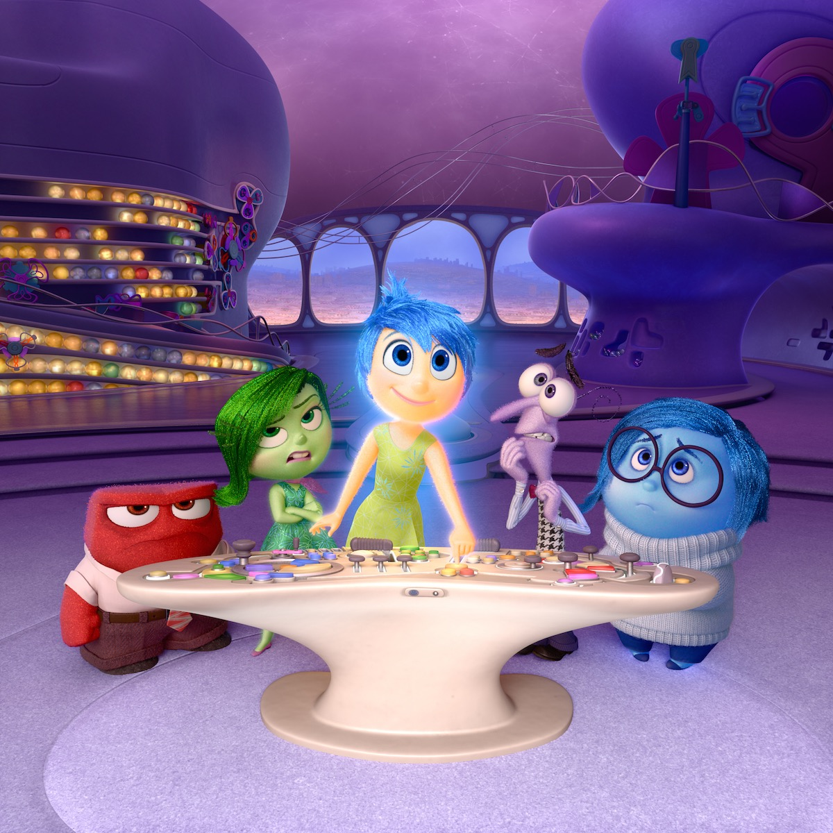 Inside Out - 5 Emotions