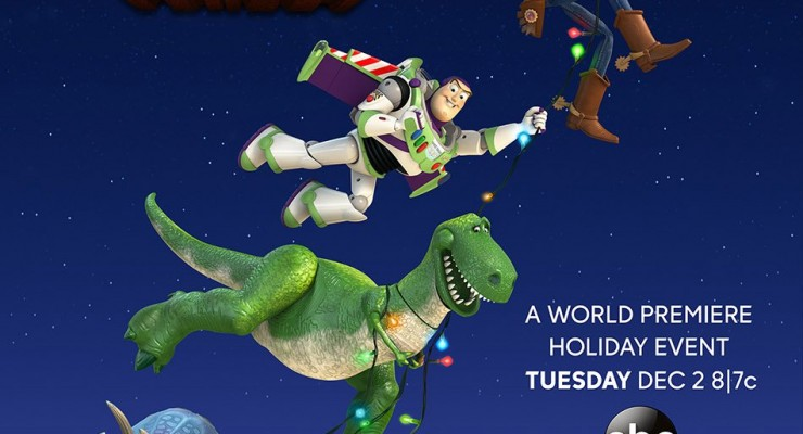 New 'Toy Story That Time Forgot' Poster Has The Cast Flying High