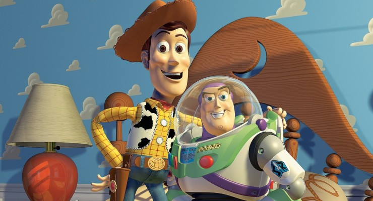 Toy Story - Woody and Buzz Pose