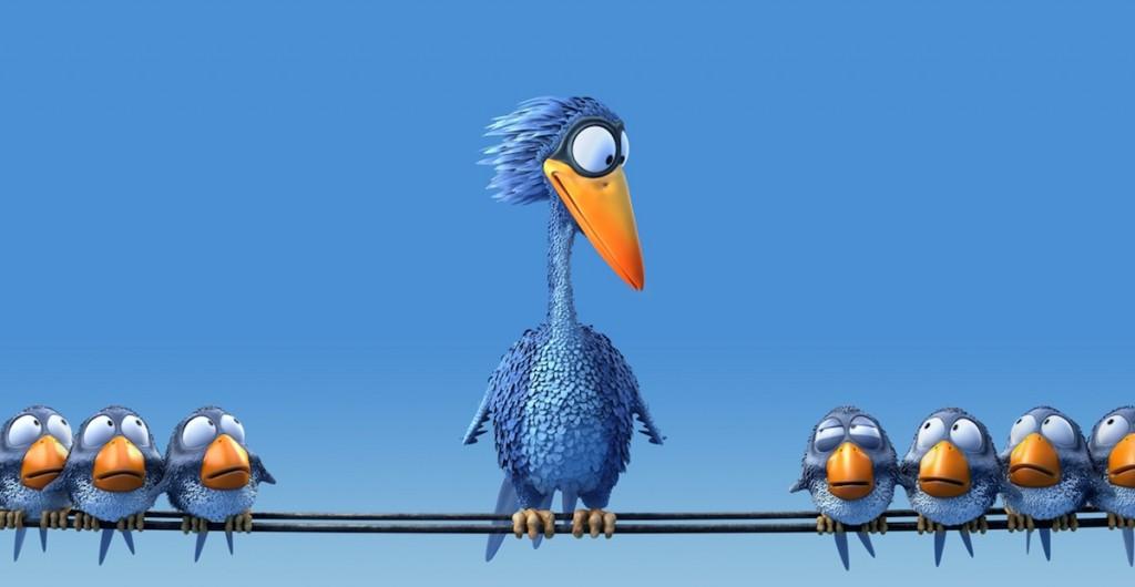 For The Birds (2000). ©Disney/Pixar.