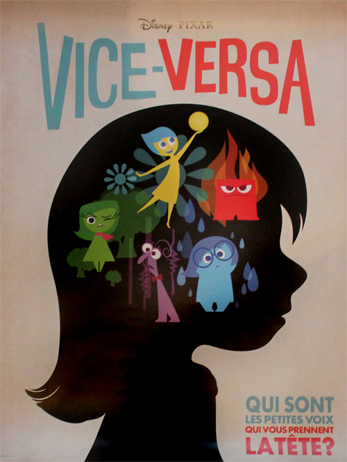 Inside Out French Poster
