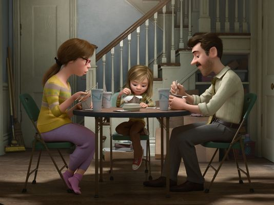 Inside Out - Riley and Parents