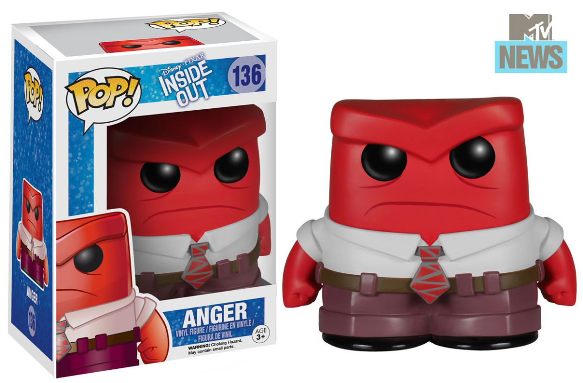 Inside Out Toys - Funko - Anger