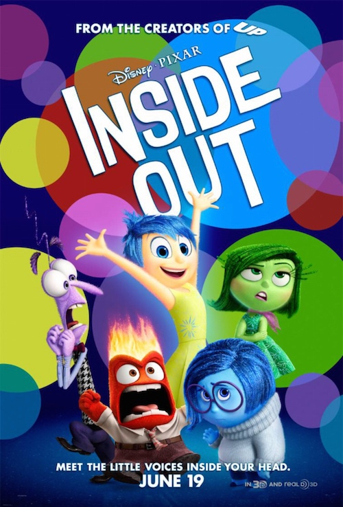 Inside Out Official Poster