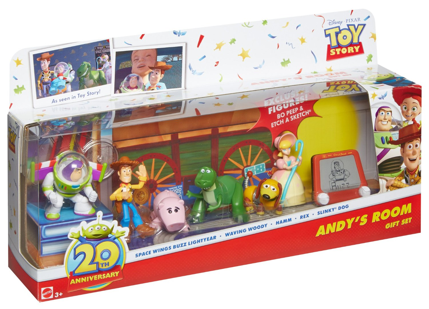 Toy Story - Andy's Room Toy Set