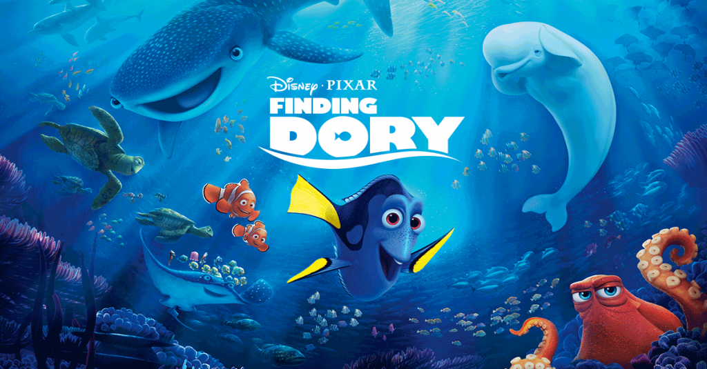 Finding Dory Title