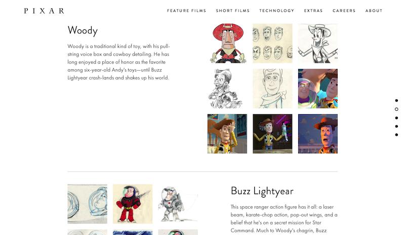 Pixar.com - Toy Story