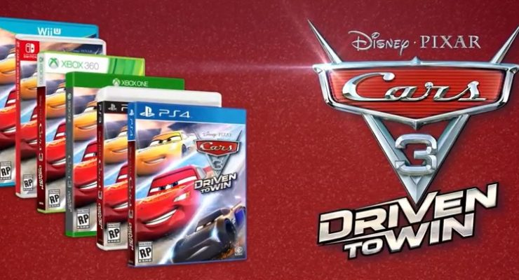 'Cars 3' Video Game Officially Announced, Headed To Consoles In June