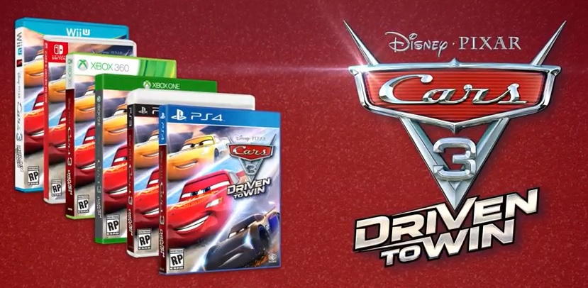 Cars 3 Video Game Officially Announced Headed To Consoles In June