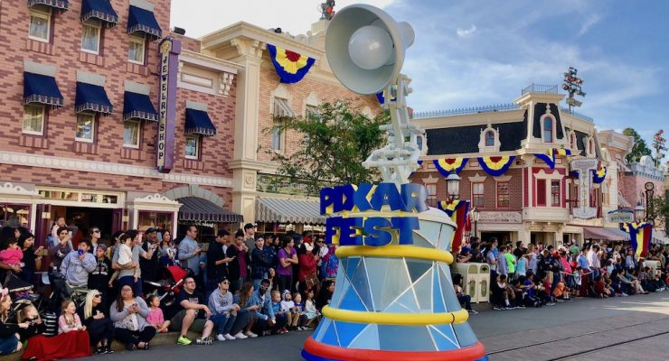 Pixar Play Parade Has Returned to Disneyland With Great New Additions
