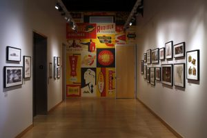 The Incredibles 2 art gallery, as seen on March 8, 2018 at Pixar Animation Studios in Emeryville, Calif. (Photo by Deborah Coleman / Pixar)