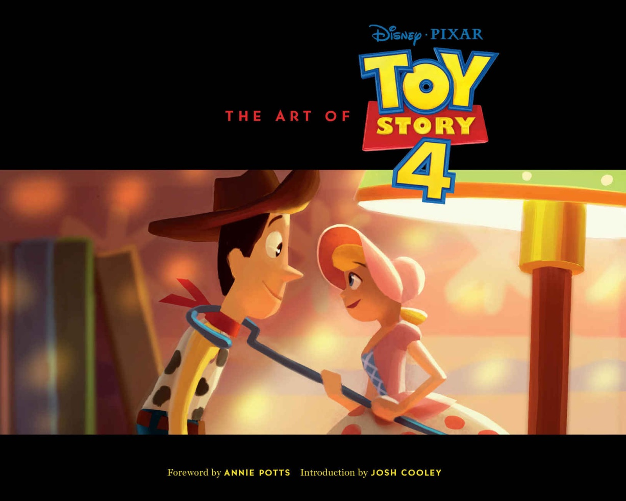 """The Art of Toy Story 4"" Front Cover - Art by John Lee"