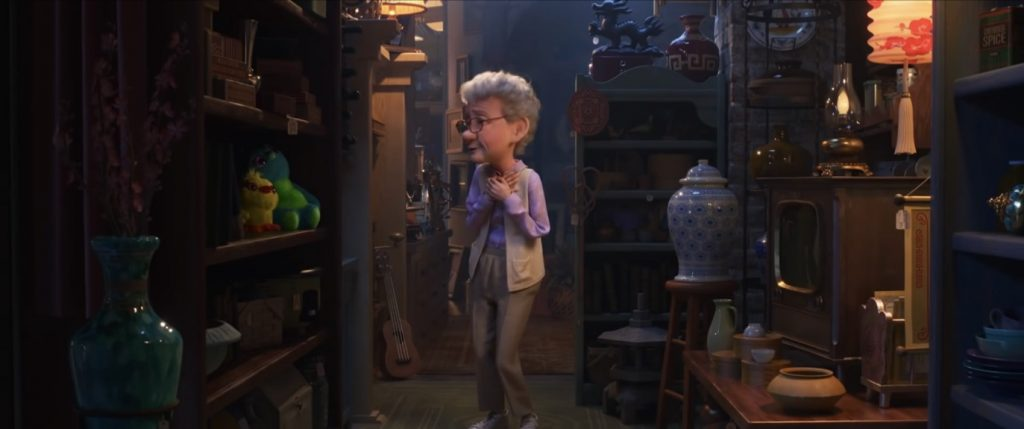The antique shop, as seen in a screenshot from the final Toy Story 4 trailer