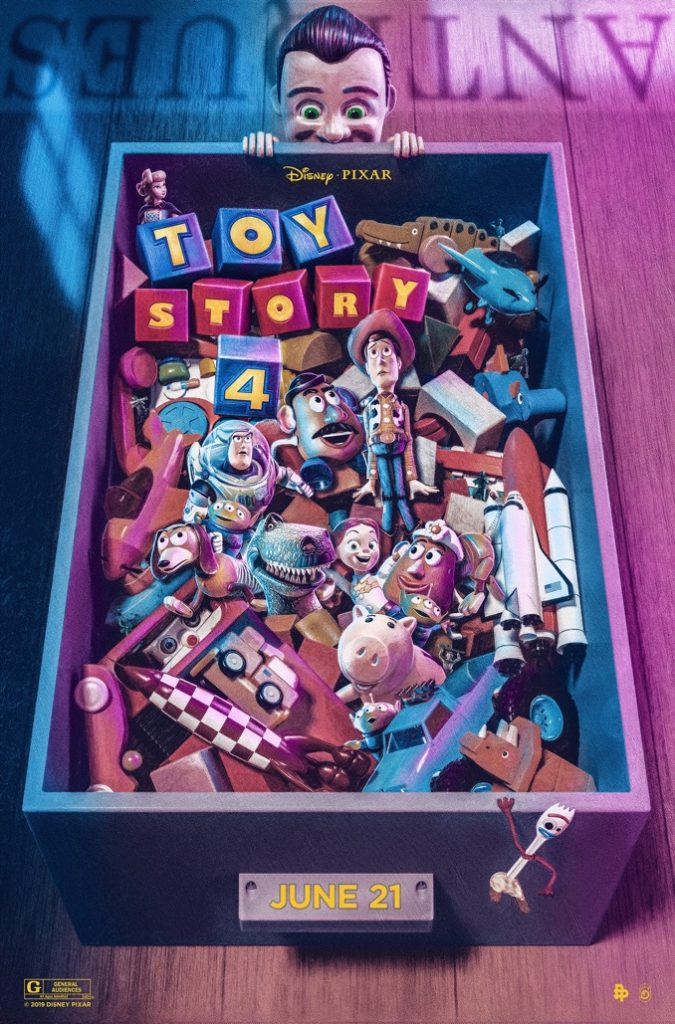 Toy Story 4 Poster by Chris Skinner