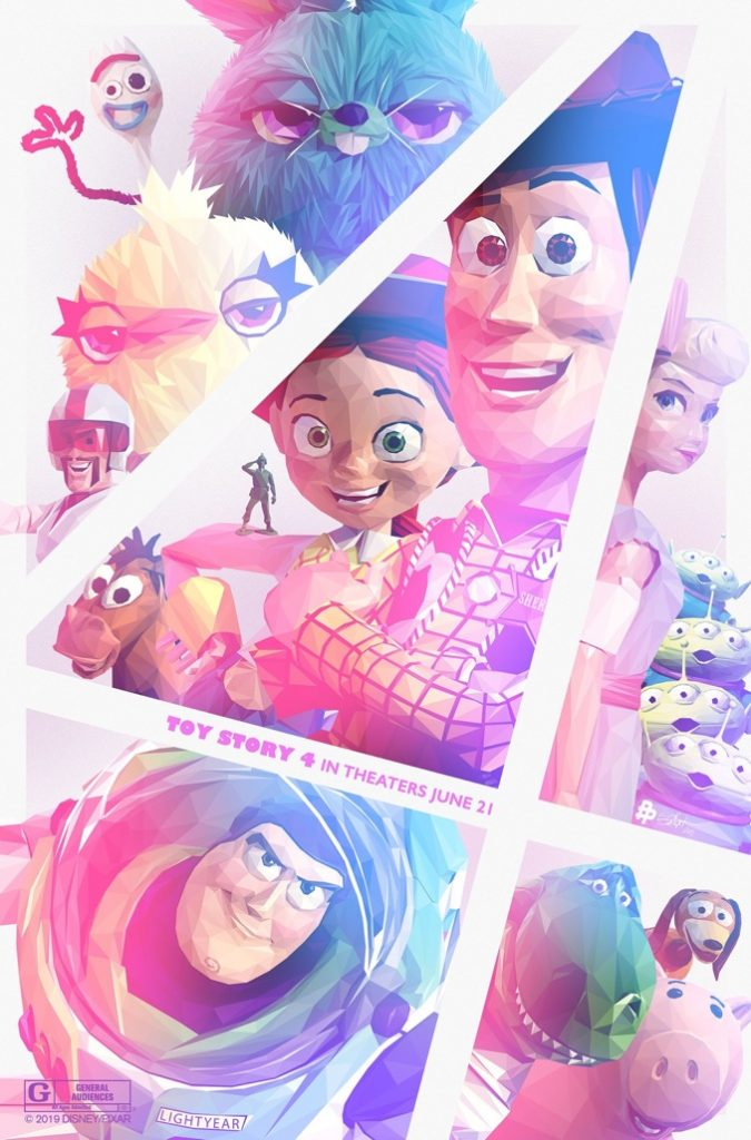 Toy Story 4 Poster by Simon Delart
